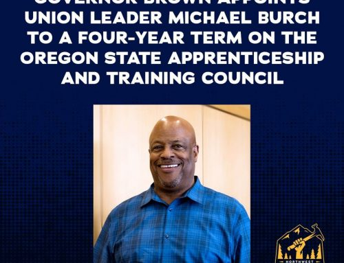 Our very own Local 1503 Brother Michael Burch Recognized